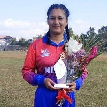 साग महिला क्रिकेटमा अञ्जली चन्दको विश्व कीर्तिमान ।